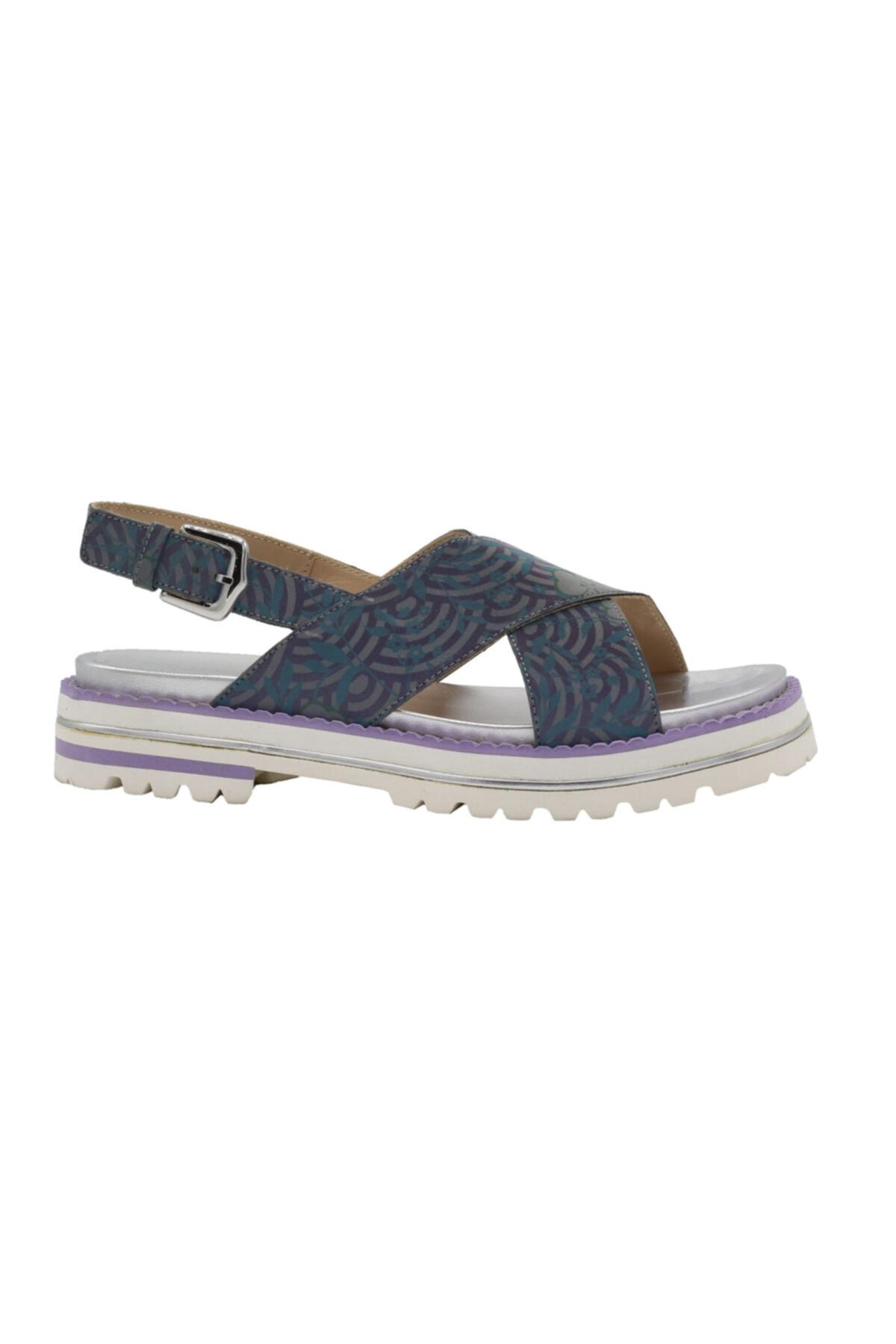 ALBERTO GUARDIANI Hakiki Deri Summer Bayan Ayakkabı 1