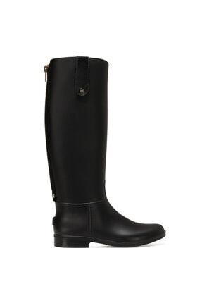 Nine West SOLE Siyah Kadın Yağmur Çizmesi 100664059