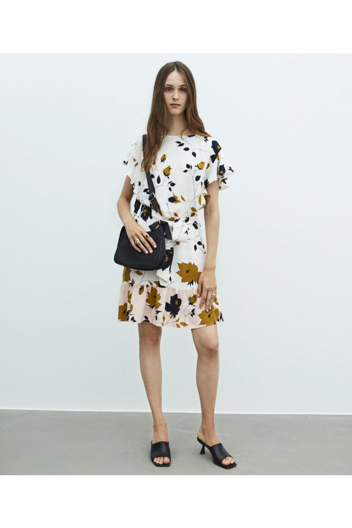 MISS IPEKYOL Çiçek Desen Elbise 1