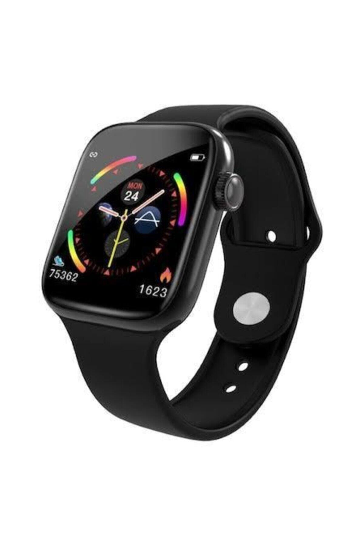 POLYGOLD W4 Akıllı Saat Smart Watch Dokunmatikli Ekran Adım Sayar 1