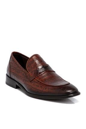 Tergan Taba Erkek Deri Ayakkabı 55038n80