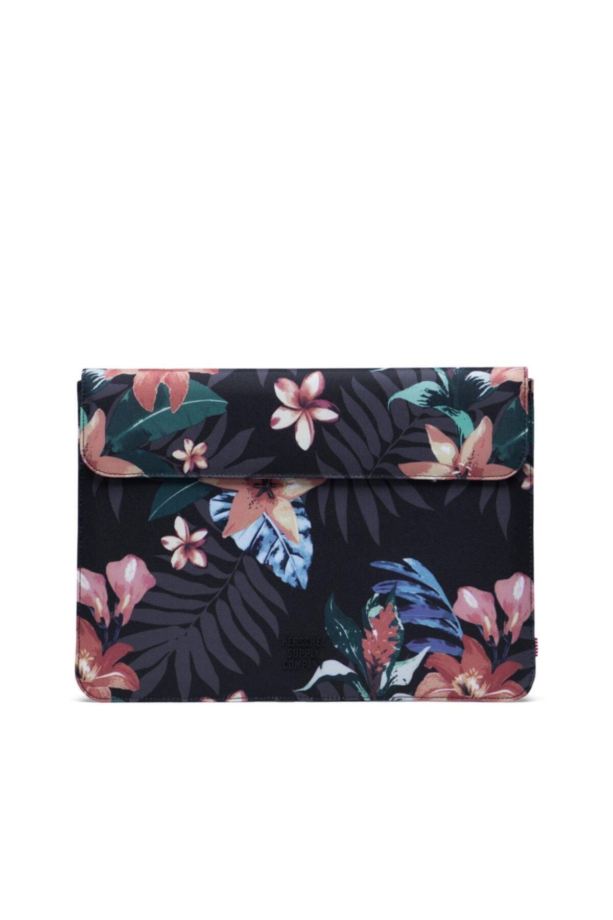 Herschel Supply Co. Herschel Supply Spokane Sleeve For New 13 Inch Macbook Summer Floral Black 1