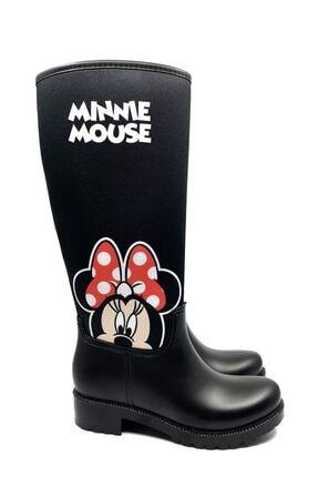 Papuçlarım Minnie Mouse Kadın Yağmur Çizmesi