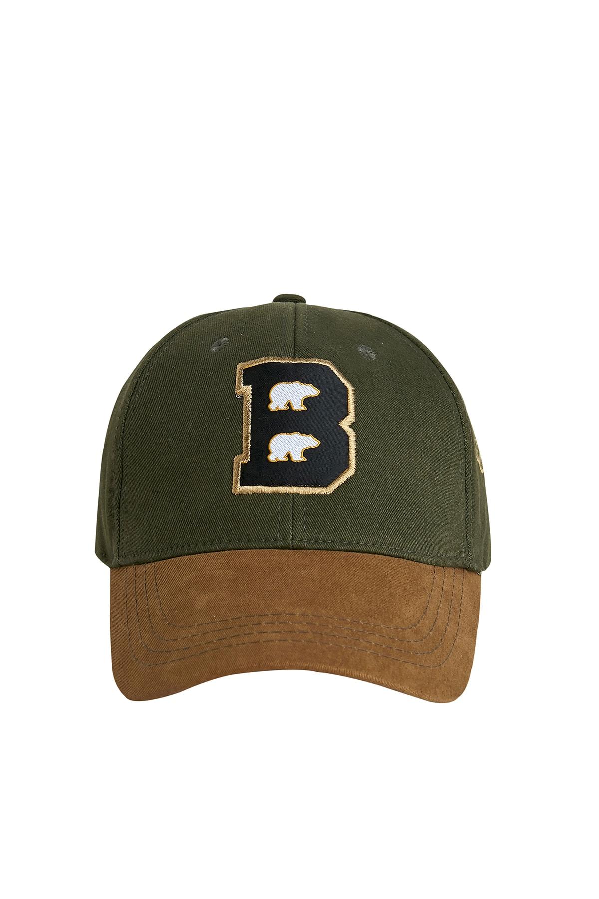 Bad Bear Braın Cap Khakı 1
