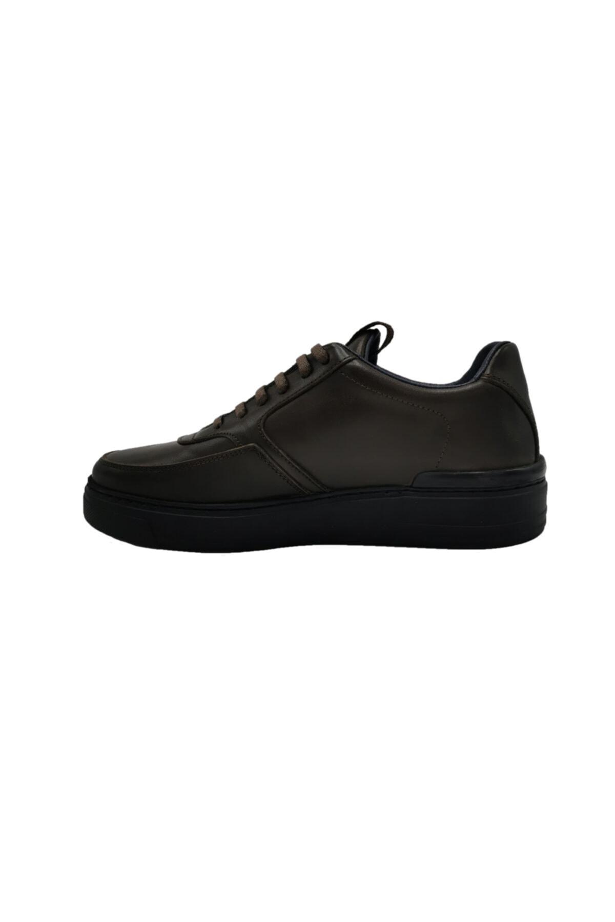 ALBERTO GUARDIANI Hakiki Deri Sneaker Erkek Ayakkabı 2