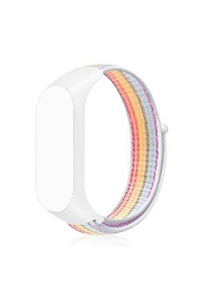 zore Xiaomi Mi Band 4 Kordon Hasır Örgü Plastik Krd-03