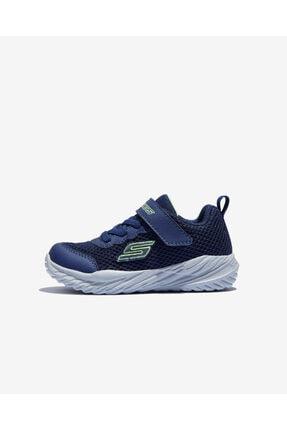 SKECHERS Nitro Sprint - Krodon Küçük Erkek Çocuk Lacivert/açık Yeşil Ayakkabı 400083n Nvlm
