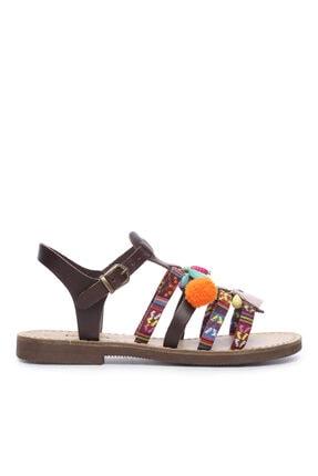 KEMAL TANCA Kadın Derı Sandalet Sandalet 607 El03 Bn Sndlt