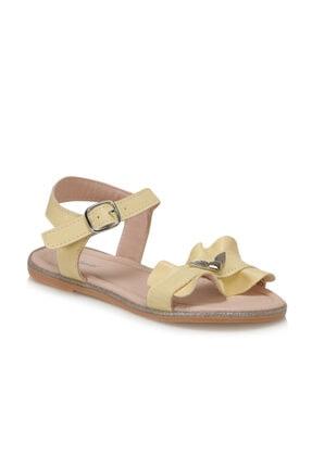 Polaris 91.511381.F Sarı Kız Çocuk Sandalet 100368994