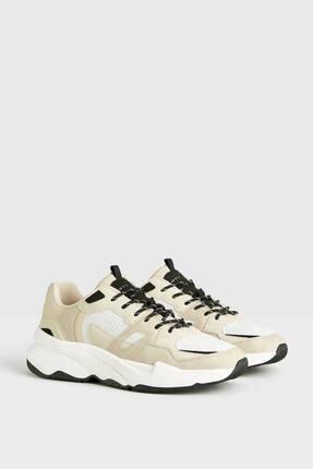 Bershka Kontrast File Spor Ayakkabı