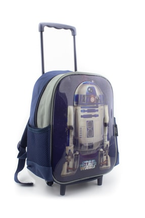 Hakan Çanta Lisanslı Star Wars Karakterli Anaokulu Çekçekli Sırt Çantası