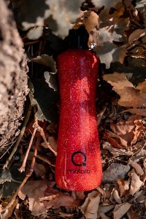 Qmatara Granit Kırmızı Cam Matara 750 Cc