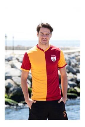 Galatasaray Sarı Kırmızı 4 Yıldızlı Metin Oktay Fan Forma