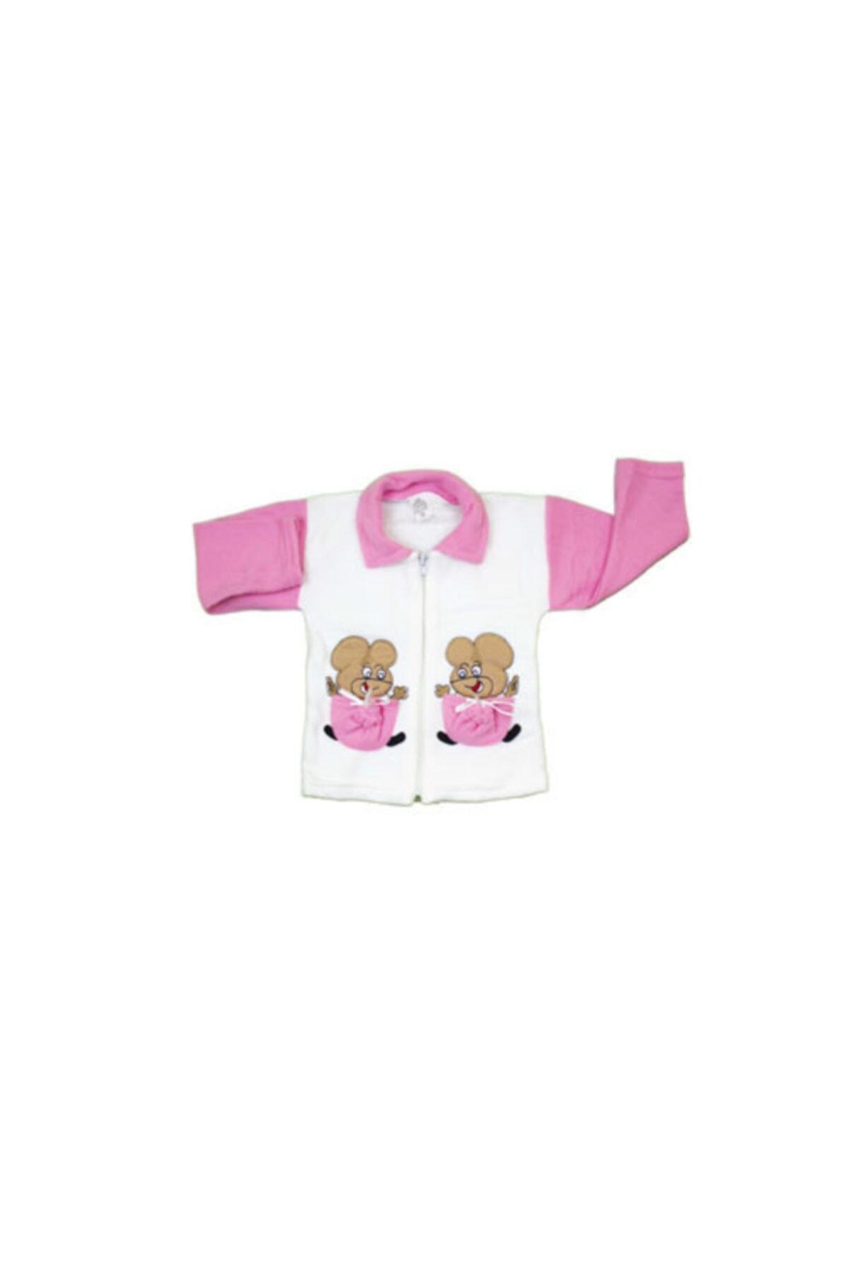 Mickey Mouse Kız Bebek Pijama Takımı 2 Parça 2