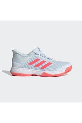 adidas Kız Çocuk Gri Fv4133 Adizero Club Tenis Ayakkabısı