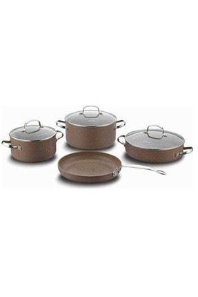 KORKMAZ A1287 Browni Plus Granit 7parça Set