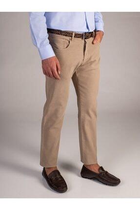 Dufy Bej Melanj Erkek Pantolon - Slimfit