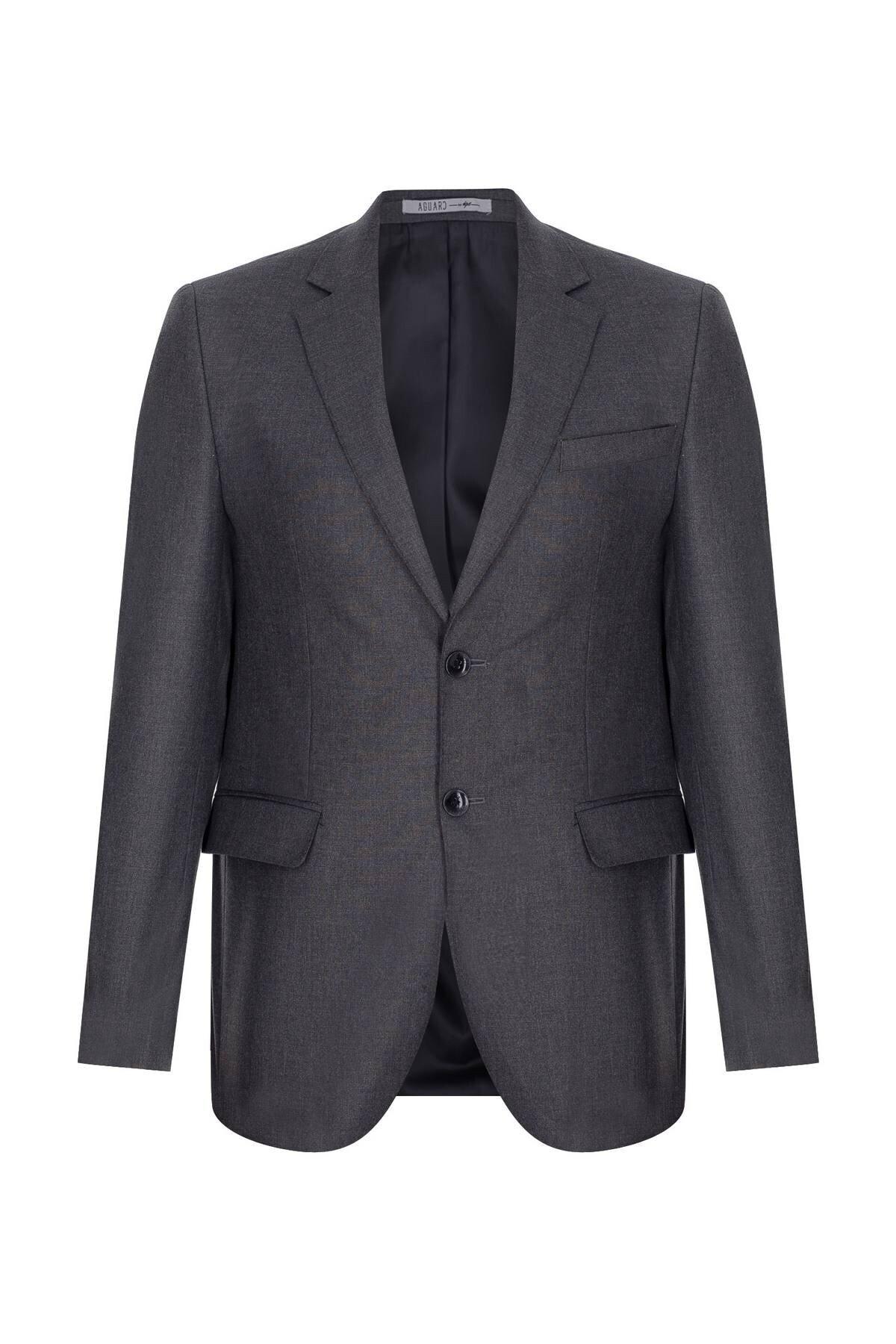 İgs Erkek Füme Barı / Geniş Kalıp Std Takım Elbise 2