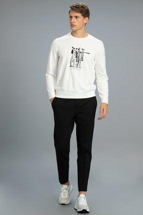 Lufian Watson Spor Chino Pantolon Slim Fit Siyah