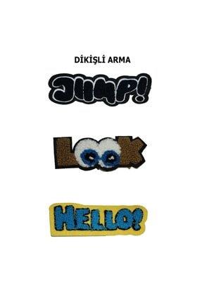HALFART Rengarenk Seri Arma Yama Patch Sticker