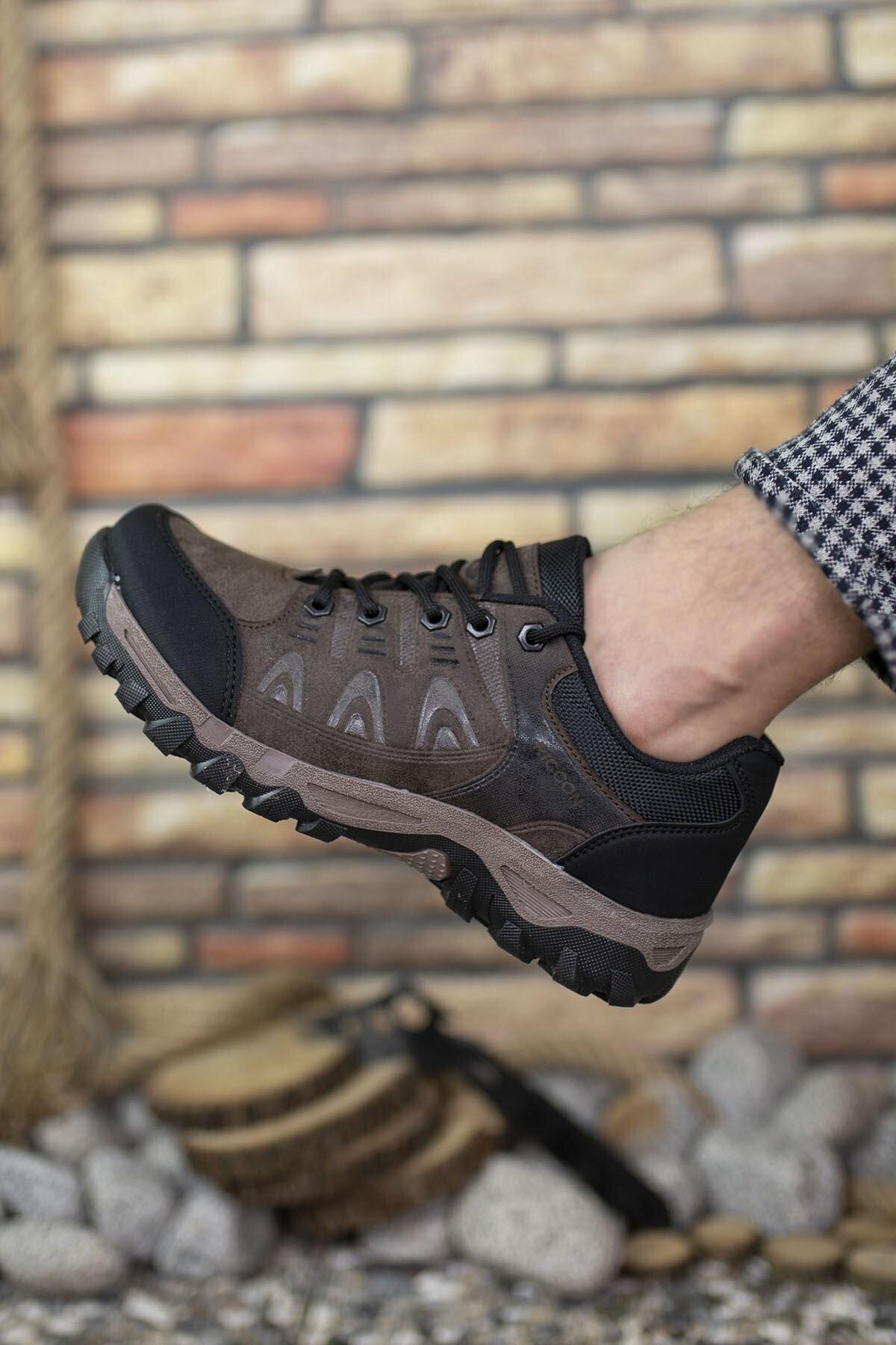 Riccon Kahverengi Erkek Trekking Ayakkabı 00127053 1
