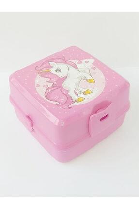 HOBBY LİFE Premium Resimli Beslenme Kutusu Pembe Unicorn