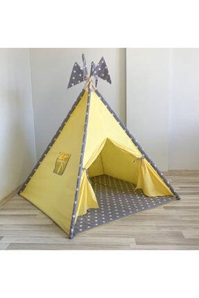 Gökmen Tekstil Lüx Oyun Çadırı Sarı