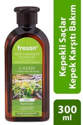 Tresan 6 Bitki Kepek Karşıtı Bakım Şampuanı 300 ml
