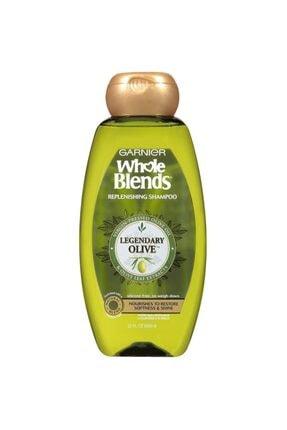 Garnier Whole Blends Zeytinyağı Özlü Silikonsuz Yenileyici Şampuan 650ml