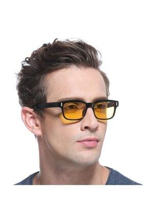 Jwl Bilgisayar Gözlüğü Pc Anti Radyasyon Gözlük Dinlendirici Sarı Cam Bilgisayar Gözlüğü Pc Anti Rad