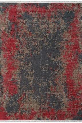 Pierre Cardin Halı Kırmızı Siyah Orient Halı Ro07c