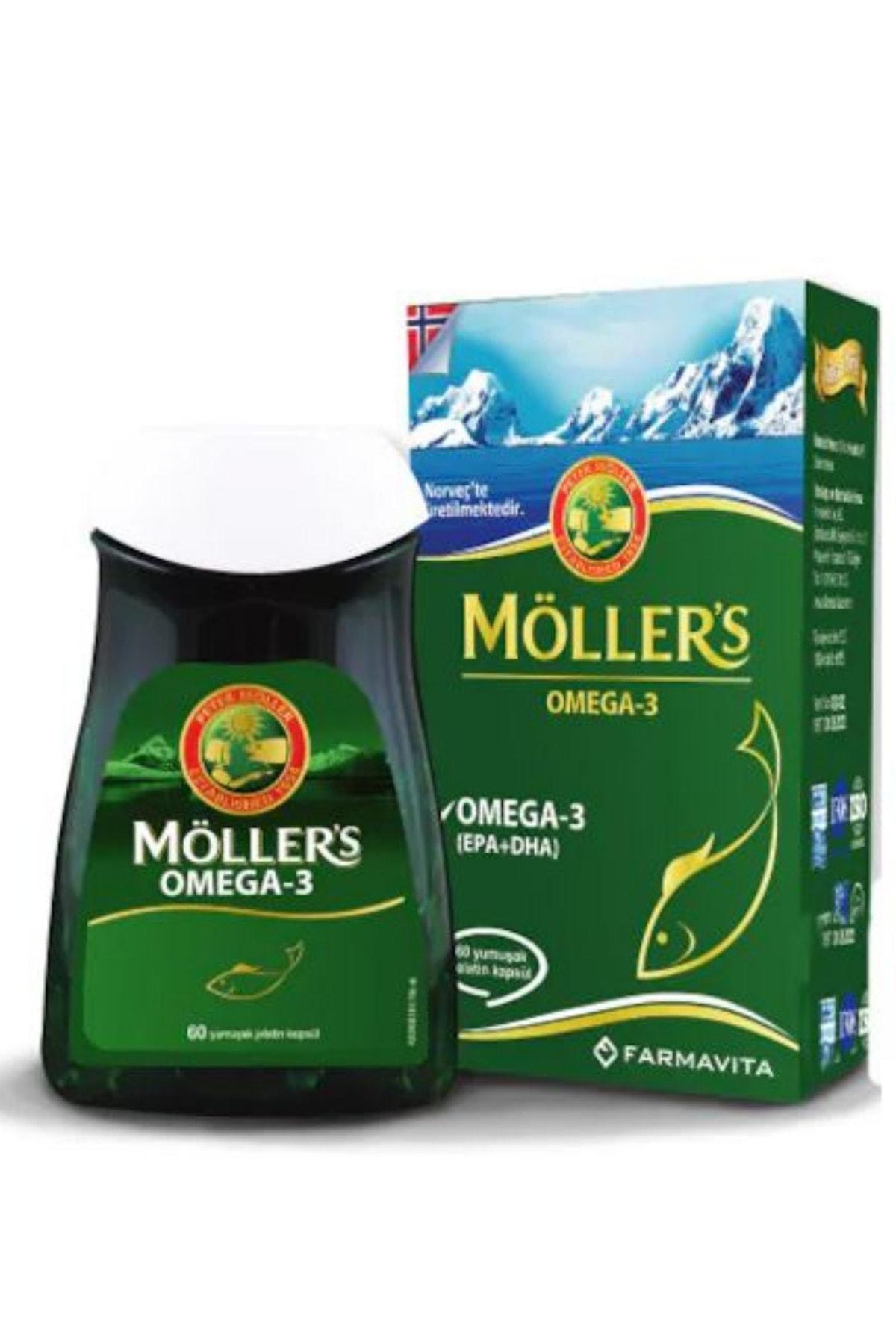 Mollers Omega 3 60 Kapsül 1