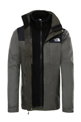 THE NORTH FACE Trıclımate Jacket Erkek Haki-siyah (Nf00cg55bqw1tf11)
