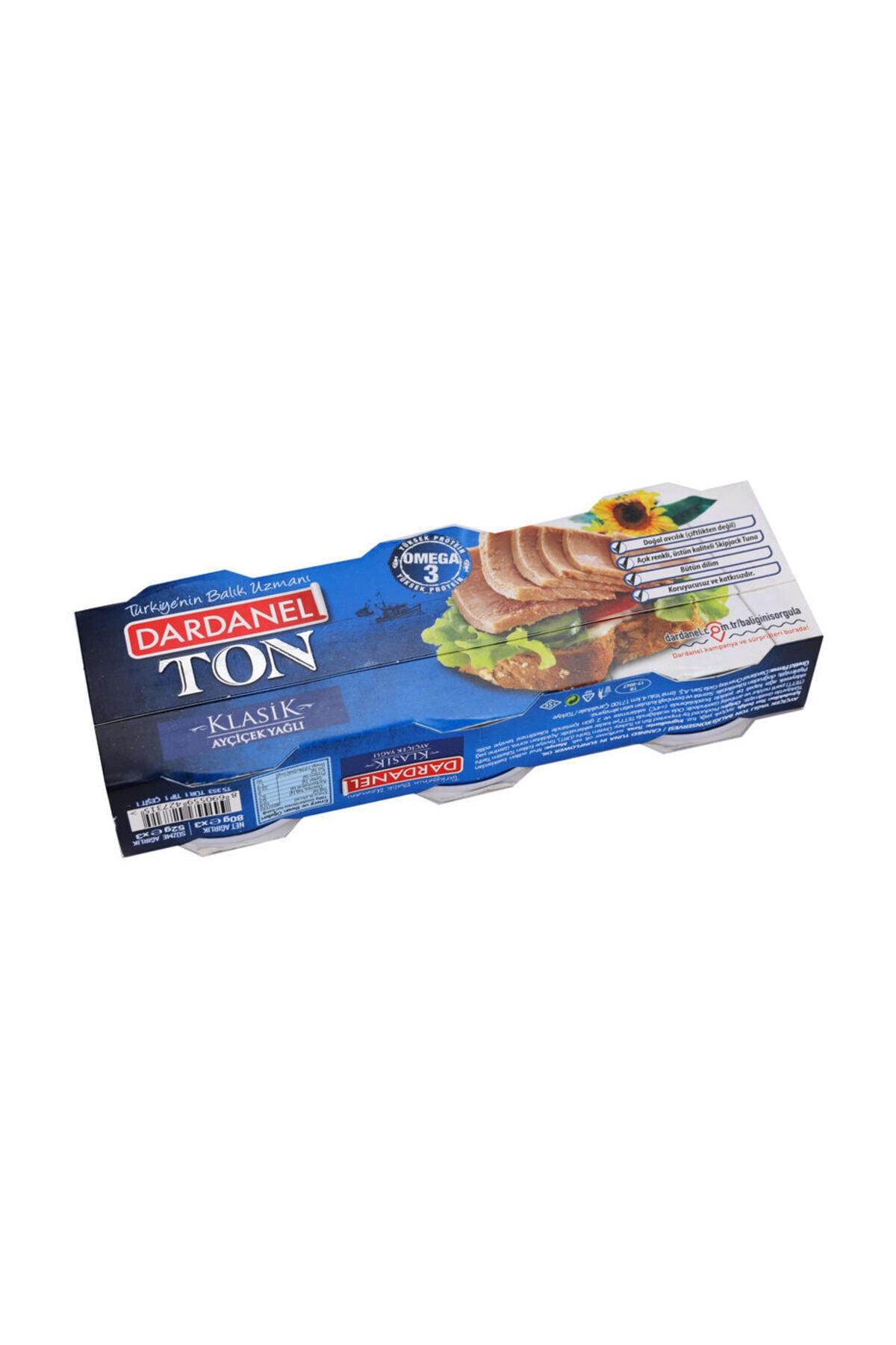 Dardanel Klasik Ton Balığı 3x75 gr 2