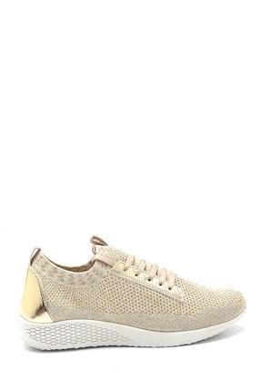 Derimod Kadın Gold Bağcıklı Sneaker