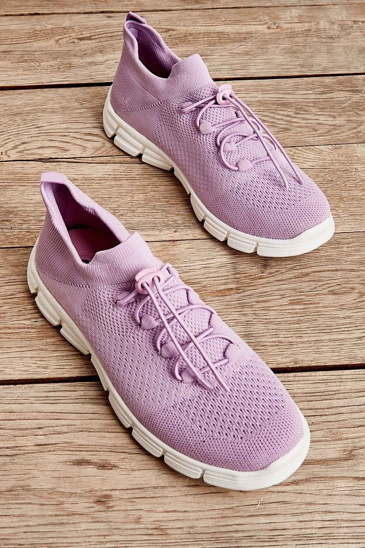Bambi Lila Kadın Sneaker K01816027182 1