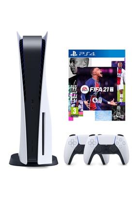 Sony Playstation 5 825 GB + 2. PS5 DualSense + PS5 Fifa 21
