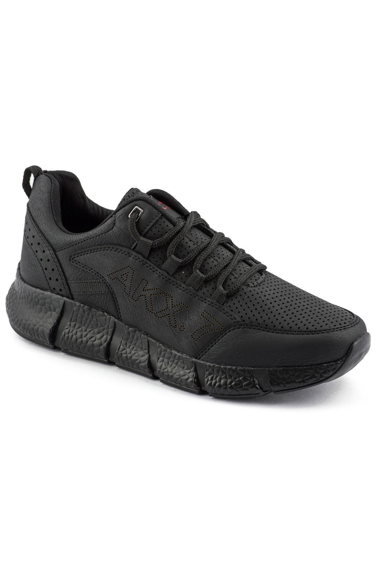 L.A Polo 021 Siyah Siyah Erkek Spor Ayakkabı 1