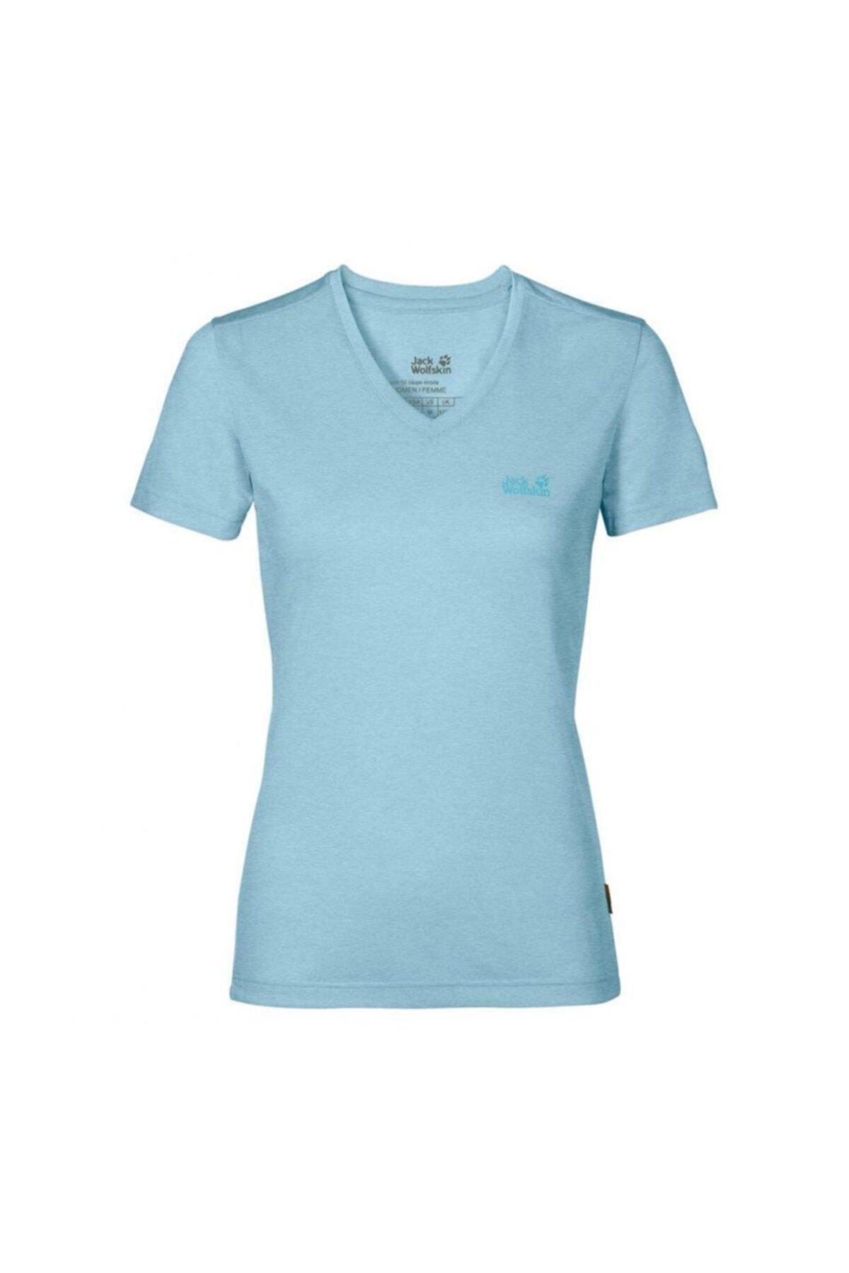 Jack Wolfskin Crosstrail Kadın T-shirt - 1801692-1145 1