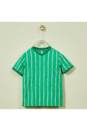 Panço Erkek Çocuk V Yaka T-shirt 2011bk05003