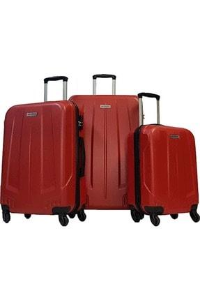 GROUND Abs 65 Cm 010504 Orta Boy Valiz Kırmızı