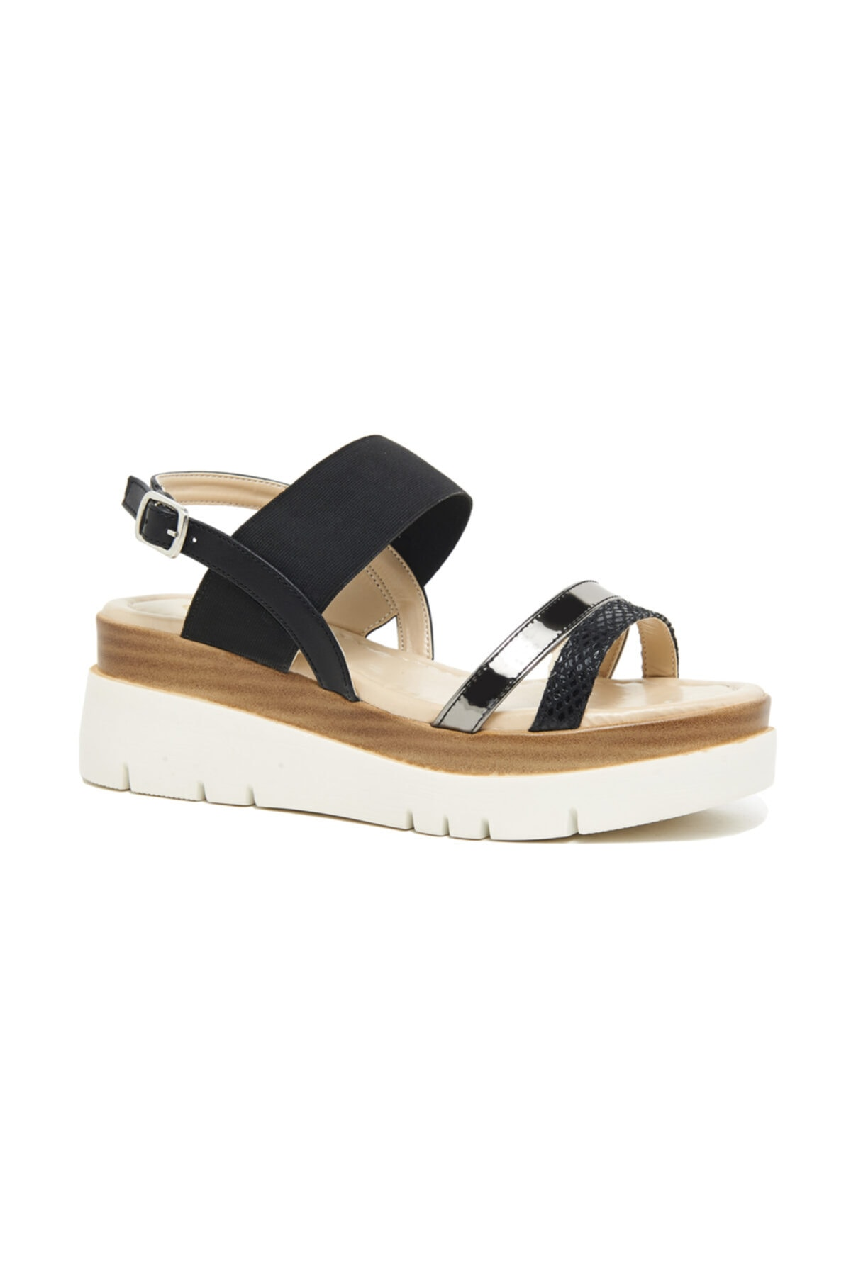 Desa Macy Kadın Kalın Tabanlı Sandalet 1