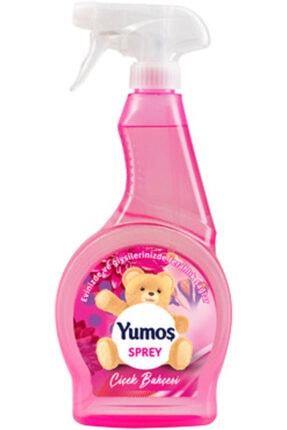 Yumoş Parfüm Oda Ve Giysi Parfümü Sprey Çiçek Bahçesi 500ml*12 Adet