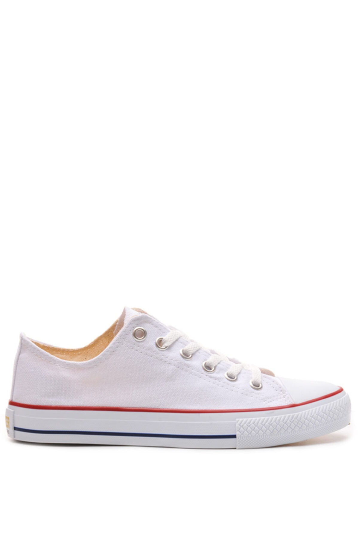 Bulldozer 201436 Beyaz Erkek Keten Ayakkabı 1
