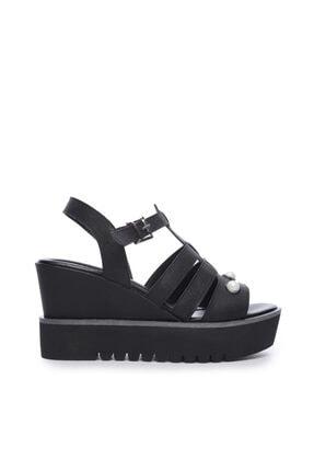 KEMAL TANCA Kadın Derı Sandalet Sandalet 169 51516 Pls Bn Sndlt