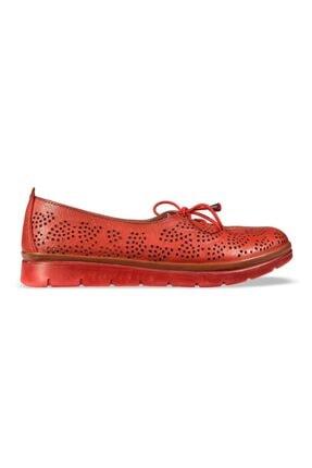 MP Kadın Deri Kırmızı Casual Ayakkabı