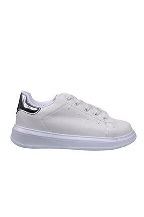 MP Çocuk Cilt Beyaz-gümüş Spor Ayakkabı 201-3022ft 650