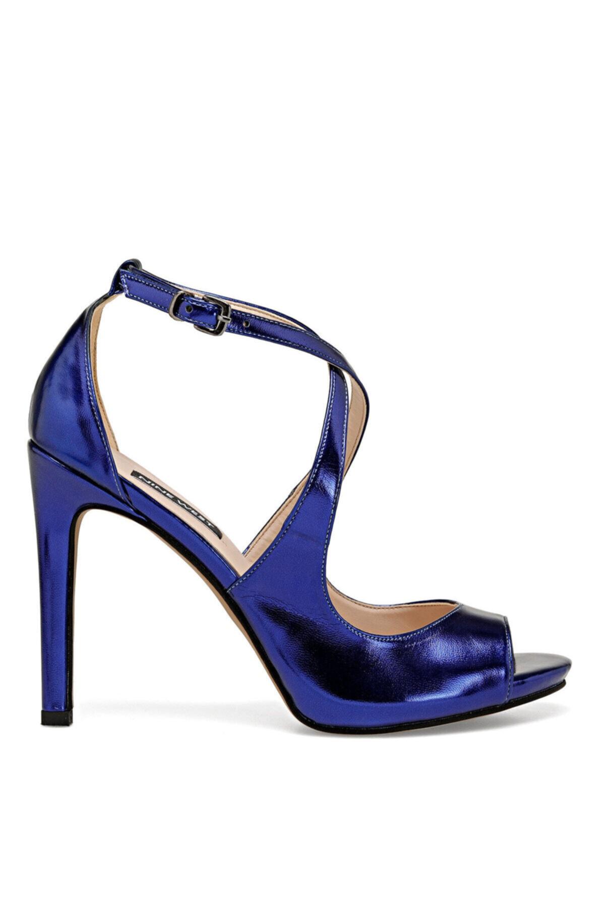 Nine West Mılla Saks Kadın Topuklu Ayakkabı 1