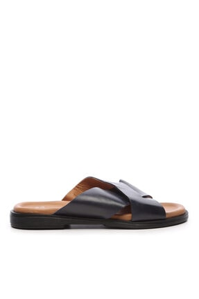 KEMAL TANCA Erkek Derı Sandalet & Terlik Terlik 352 2356 Erk Trlk