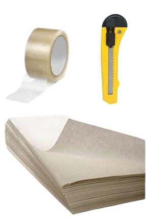İhtiyaç Limanı 3.hamur 40x60 Kağıt 2 Kg , Maket Bıçağı ,koli Bandı 2 Adet 100 Mt Taşınma Ve Ambalaj Paketleme Seti